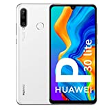 Huawei P30 Lite - Smartphone De 6.15' (Wifi, Kirin 710, Ram De 4 Gb, Memoria De 128 Gb, Cámara De 48+2+8 Mp, Android 9) Color Blanco