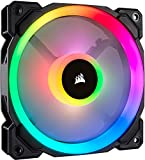 Corsair Ll120 Rgb Ventilador De Pc (120 Mm, Doble Halo Rgb Led Pwm) Paquete Soltero