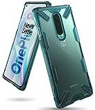Ringke Fusion-X Diseñado Para Funda Oneplus 8, Transparente Al Dorso Carcasa Oneplus 8 Protección Resistente Impactos Tpu + Pc Funda Para Oneplus 8 (2020) - Turquoise Green