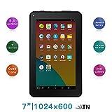 Haehne 7' Tablet Pc - Google Android 5.1 Quad Core, 1G Ram 8Gb Rom, Cámaras Duales 2.0Mp + 0.3Mp, 2800Mah, 1024 X 600 Pantalla, Wifi, Bluetooth, Rosado