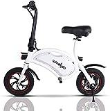 Mangoo Bicicleta Electrica Plegable Urbana 36V 350W 25Km/h