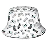 Fenrris65 Retro Gamepads And Joysticks Unisex Casual Bucket Hat Fisherman Cap Sun Hat