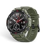 Amazfit T-Rex Smartwatch Pulsera Inteligente Reloj Deportativo Monitor De Sueño Notificación Llamada Y Mensaje Para Andriod Ios (Army Green)