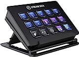 Elgato Stream Deck - Controlador Para Contenido En Directo, 15 Teclas Lcd Personalizables, Soporte Ajustable, Windows 10 Y Macos 10.13 O Posterior, Negro