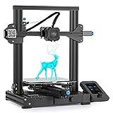 Impresora 3D Creality Ender-3 V2 Con Placa Base Silenciosa De 32 Bits, Fuente De Alimentación Meanwell, Plataforma De Vidrio De Carborundo E Impresión De Currículum Vítae 220X220X250Mm