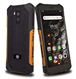 """Hammer Iron 3 Lte 5,5"""" Ips, Ip68 - A Prueba De Agua, A Prueba De Golpes, A Prueba De Polvo, Mega-Batería 4400Mah, Nfc, Octa-Core 2Ghz, Android 9, Dual Sim, 32Gb/3Gb, 4G, Dual Sim - Naranja"""