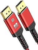 Alclap Cable Displayport 4K, Cable Dp 144Hz Alta Velocidad - [4K@60Hz, 2K@144Hz, 2K@165Hz]-Cable Display Port 2M Compatible Con Laptop/tv/pc Asus/dell/monitor De Juego