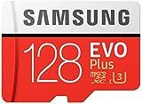 Samsung Evo Plus Tarjeta De Memoria De 128 Gb Micro-Sd Sdxc Clase 10 U3 100 Mb/s (Mb-Mc128Ha Apc)