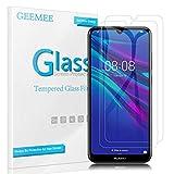 Geemee Para Huawei Y6 2019/huawei Y6S 2019 Protector De Pantalla, 2 Pack Cristal Templado Película Vidrio Templado 9H Alta Definicion Glass Screen Protector Film Para Huawei Honor 8A(Transparente)