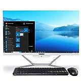 Ordenador All In One Weidian Pc All In One With Windows 10,23.8 Pulgadas Intel Core I5-4200U,8Gb Ram,512Gb Ssd, Ordenador De Sobremesa Todo En Uno,hdmi,vga,wifi,bluetooth Teclado Mouse & Inalámbricos