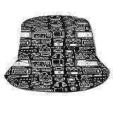 Puio Sombrero De Pesca,consolas De Videojuegos Retro Para Videojuegos Controladores Pc S Joysticks Y Gamepads,senderismo Para Hombres Y Mujeres Al Aire Libre Sombrero De Cubo Sombrero Para El Sol