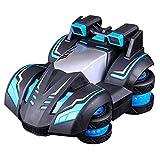 Dcolor 2.4G Creativo Modelo De Vehículo De Control Remoto De Suspensión De Deriva Aeróbica Para Niios Vehículo De Juguete Eléctrico Con Resistencia A Caídas Y Carga Todoterreno Azul