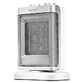Cecotec Calefactor Baño Cerámico Ready Warm 6100 Ceramic Rotate. Oscilante, 1500 W, Termostato Regulable, 3 Modos, Protección Sobrecalentamiento Y Antivuelco, Silencioso, 25 M2