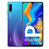 Huawei P30 Lite - Smartphone De 6.15' (Wifi, Kirin 710, Ram De 4 Gb, Memoria Interna De 128 Gb, Cámara De 48 + 2 + 8 Mp, Android 9) Color Azul