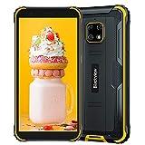 Blackview Bv4900 Pro(2020), Teléfono Móvil Resistente Android 10 4G De 5,7', 4 Gb De Ram, 64 Gb De Rom, Expansión De 128 Gb, Cámara 13 Mp + 5 Mp, Batería De 5580 Mah, Gps Nfc Dual Sim, Amarillo