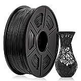Filamento Abs 1.75 Mm, Filamento Abs Impresora 3D, Filamento Abs 1Kg (2.2 Lb) Abs Negro