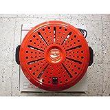 Iglesias Brasero Electrico Bn 4 Calor Negro Bajo Consumo (Rojo)