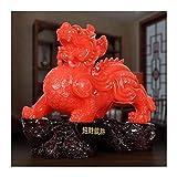 Estatuas Feng Shui Decoración Lucky Pixiu Decoración Encuentro Pixiu Gama Alta De Oficina De Boss Escritorio Sala De Estar Decoración Apertura Tiendas De Regalos Decoración De Escritorio Estatua De Ci