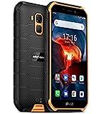 Móvil Resistente (2020), Ulefone Armor X7 Pro Android 10 4G Teléfono Móviles Antigolpes Ip68, Batería 4000 Mah, Fotografía Submarina, Quad-Core 4Gb+32Gb, Dual Sim/gps/nfc, Desbloqueo Facial Naranja