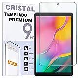 Rey - Protector De Pantalla Para Samsung Galaxy Tab A 2019 10.1', Cristal Vidrio Templado Premium, Táblet