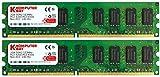 Komputerbay - Módulo De Memoria Dimm (240 Pin) Para Pc, 4Gb (2 X 2Gb), Ddr2, 533Mhz, Pc2-4200/pc2-4300