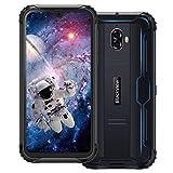 Blackview Bv5900 Movil Resistente 3Gb + 32Gb Android 9.0 Dual Sim 4G Smartphone Con Pantalla 5.7' Hd+Ips, 13Mp/0.3Mp + 5Mp, 5580Mah Batería, Mt6761, Telefono Ip68 Impermeable, Nfc/face Id/gps- Negro