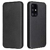Topofu Funda Para Samsung Galaxy A52 5G, Carcasa Flip Leather Wallet Case, Funda De Cuero Pu Premium Carcasa Para Samsung Galaxy A52 5G (Negro)