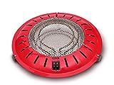 Hjm 100 Brasero Electrico 400/500/900 W, 900 W, Metal, Rojo
