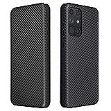Topofu Funda Para Samsung Galaxy A72 5G, Carcasa Flip Leather Wallet Case, Funda De Cuero Pu Premium Carcasa Para Samsung Galaxy A72 5G (Negro)