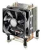 Cooler Master Disipador Cooler Master Hyper Tx3I Sistema De Enfriamiento Cpu, Compacto Y Eficiente, 3 Tubos De Calor De Contacto Directo, Ventilador Pwm De 92 Mm