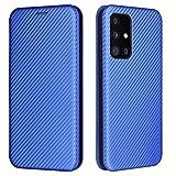 Topofu Funda Para Samsung Galaxy A52 5G, Carcasa Flip Leather Wallet Case, Funda De Cuero Pu Premium Carcasa Para Samsung Galaxy A52 5G (Azul)