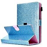 Funda Compatible Con 9-10.1' Tableta, Carcasa Protección Para Ipad 2/3/4, Ipad 2018, Asus Zenpad 10, Lenovo Tb-X103F/tab 2 A10-70, Huawei Mediapad T5/m5 Lite 10, Samsung Galaxy Tab A6 10.1', Azul