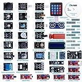 Elegoo Actualizado 37-En-1 Kit De Módulos De Sensores Con Tutorial Compatible Con Arduino Uno R3 Mega 2560 Nano Raspberry